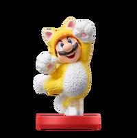 Amiibo Mario Felino - Serie Super Mario