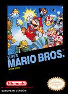 Caja de Super Mario Bros. (Europa)