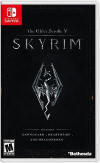 Caja de The Elder Scrolls V - Skyrim (América)