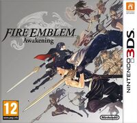 Caja de Fire Emblem Awakening (Europa)