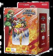 Paquete con Super Smash Bros. for Nintendo 3DS, lector NFC y amiibo de Samus (Nueva Zelanda)