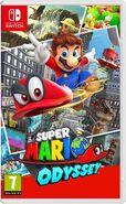 Caja de Super Mario Odyssey (Europa)