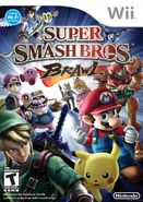 Caja de Super Smash Bros. Brawl (América)