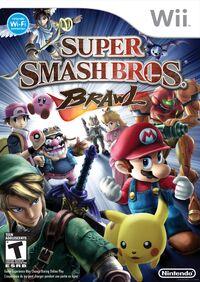 Caja de Super Smash Bros. Brawl (América)