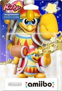 Embalaje europeo del amiibo del Rey Dedede - Serie Kirby