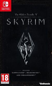 Caja de The Elder Scrolls V - Skyrim (Europa)