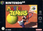 Caja de Mario Tennis (Europa)