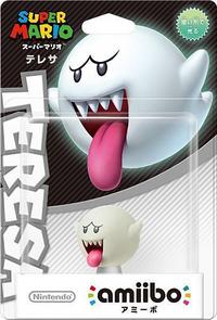 Embalaje japonés del amiibo de Boo - Serie Super Mario