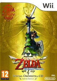 Caja de The Legend of Zelda - Skyward Sword (Europa)