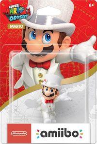 Embalaje americano del amiibo de Mario (Nupcial) - Serie Super Mario