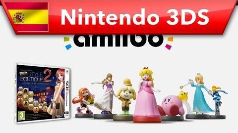 New Style Boutique 2 ¿Sabes que también es compatible con amiibo? (Nintendo 3DS)