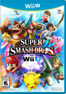 Caja de Super Smash Bros. for Wii U (América)