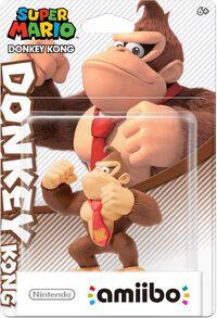 Embalaje americano del amiibo de Donkey Kong - Serie Super Mario