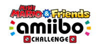 Logo de Mini Mario & Friends - amiibo Challenge