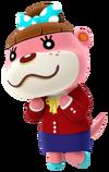 Nuria en Animal Crossing amiibo Festival