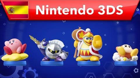 Kirby Planet Robobot - Tráiler de amiibo (Nintendo 3DS)