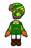 Atuendo de Link - Mario Kart 8