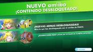 Armas amiibo desbloqueadas (Peach) - Mario + Rabbids Kingdom Battle