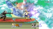Amiibo subiendo de nivel en combate - Super Smash Bros. for Wii U
