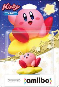 Embalaje americano del amiibo de Kirby - Serie Kirby