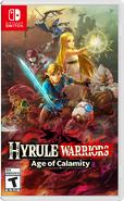 Caja de Hyrule Warriors La era del cataclismo (América)