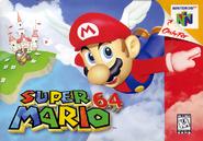 Caja de Super Mario 64 (América)
