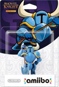 Embalaje japonés del amiibo de Shovel Knight - Serie Shovel Knight