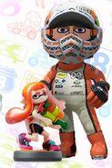 Mii usando el atuendo de Inkling - Mario Kart 8 Deluxe