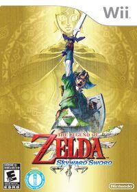 Caja de The Legend of Zelda - Skyward Sword (América)