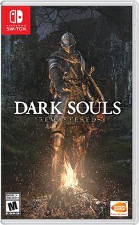 Caja de Dark Souls Remastered (América)