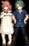 Espíritu Alm y Celica (niños) - Super Smash Bros. Ultimate