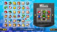 Lista de trajes desbloqueados en Mario Kart 8