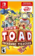 Caja de Captain Toad Treasure Tracker (Nintendo Switch) (América)