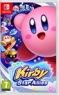 Caja de Kirby Star Allies (Europa)