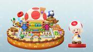 Tablero Toad amiibo Party - Mario Party 10
