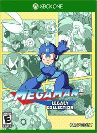 Caja de Mega Man Legacy Collection (Xbox One)