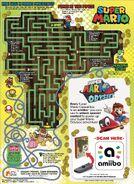 Parte trasera de la caja de Super Mario Cereal