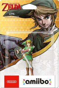 Embalaje europeo del amiibo de Link (Twilight Princess) - Serie 30 aniversario TLoZ