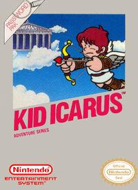 Caja de Kid Icarus (Europa)