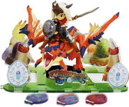 Diorama de Monster Hunter Stories