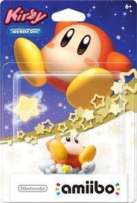 Embalaje americano del amiibo de Waddle Dee - Serie Kirby