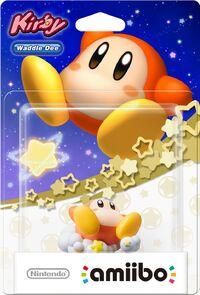 Embalaje europeo del amiibo de Waddle Dee - Serie Kirby