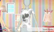 Yoshi con manchas - Nintendo presenta New Stlye Boutique 3 Estilismo para celebrities