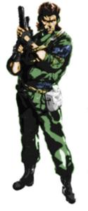 Solid Snake en Metal Gear