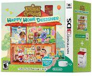 Pack de Anima Crossing Happy Home Designer con tarjeta amiibo y Lector NFC (América)