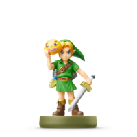 Amiibo Link (Majora's Mask) - Serie The Legend of Zelda
