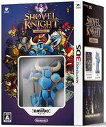 Paquete con Shovel Knight y amiibo de Shovel Knight (Japón)