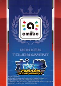 Reverso amiibo Mewtwo Oscuro (América) - Serie Pokkén Tournament