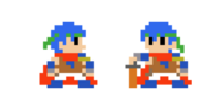 Traje de Ike - Super Mario Maker
