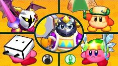 Kirby Battle Royale - All amiibo Exclusive Costumes